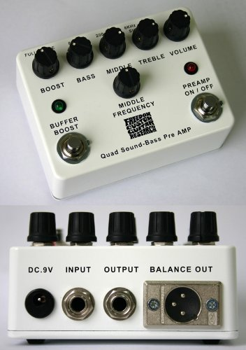 FREEDOM  Quad Sound-Bass Preamp